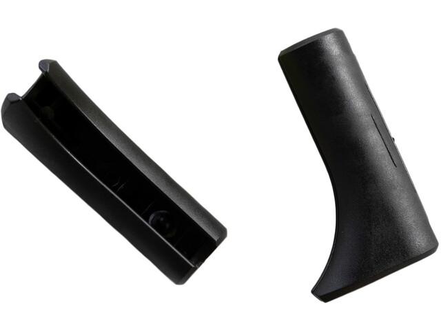 Lafuma Mobilier protectores de pie - para Futura & Evolution 2 piezas negro